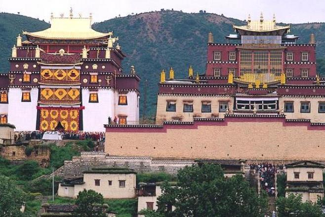 monastère Songzanlin - Religion Chine