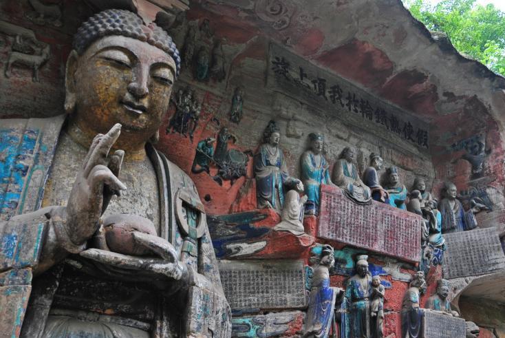 sculptures rupestres de Dazu - Voyage culturel Chine