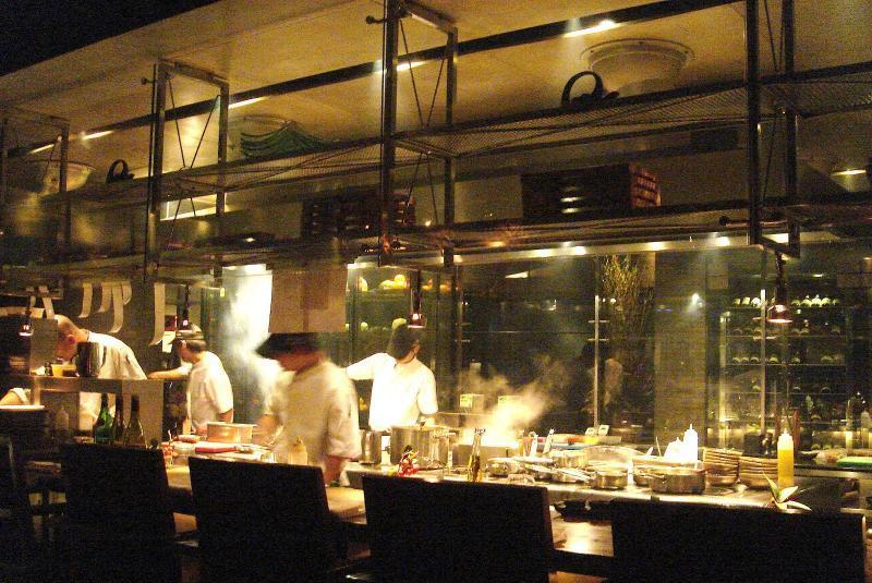 Restaurant t8 terre chinoise restaurants shanghai chine for Cuisine ouverte restaurant norme