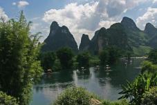 Balade en radeau en bambou - Activité Chine