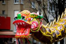 Danses du dragon et du lion - Activit Chine