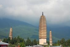temple des trois stupas - Religion Chine